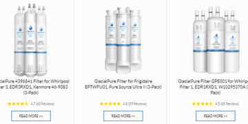 glacial pure filters