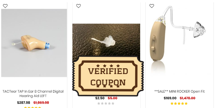 hearing aids coupons