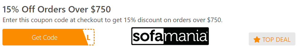 15% Off Orders Over $750