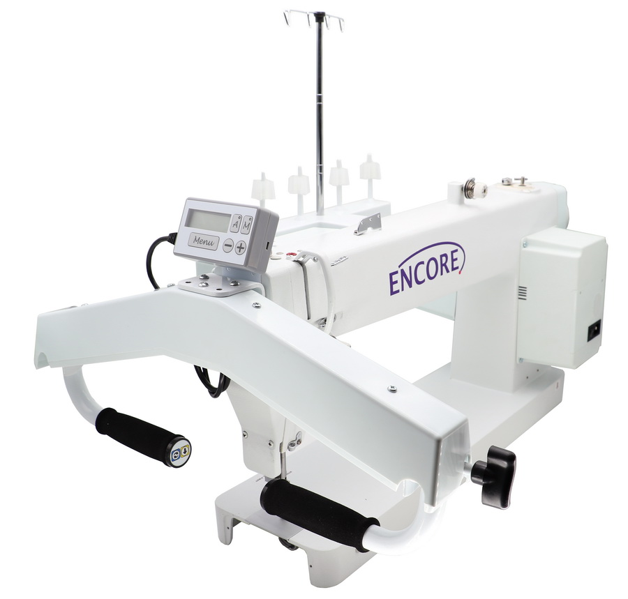 encore 18 x 8 inch long arm quilting machine