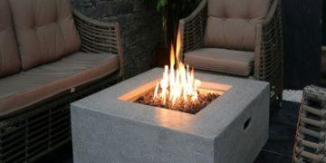 manhattan fire pit table