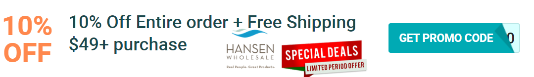 10% Off Hansen Wholesale Discount
