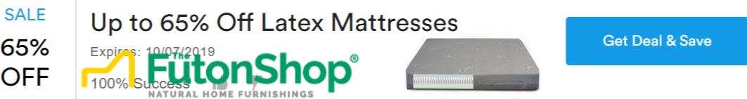 65% Off Latex Mattress