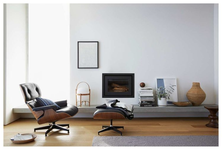 Eames Tall Lounge Chair and Ottoman