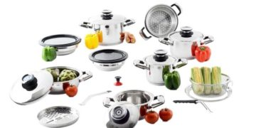 Professional Platinum 21-Piece Cooking System