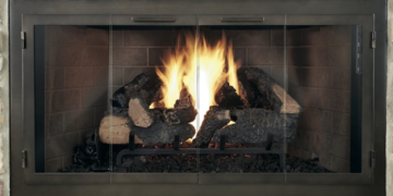 legend zc deluxe fireplace door