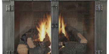 milwaukee forge armada fireplace door