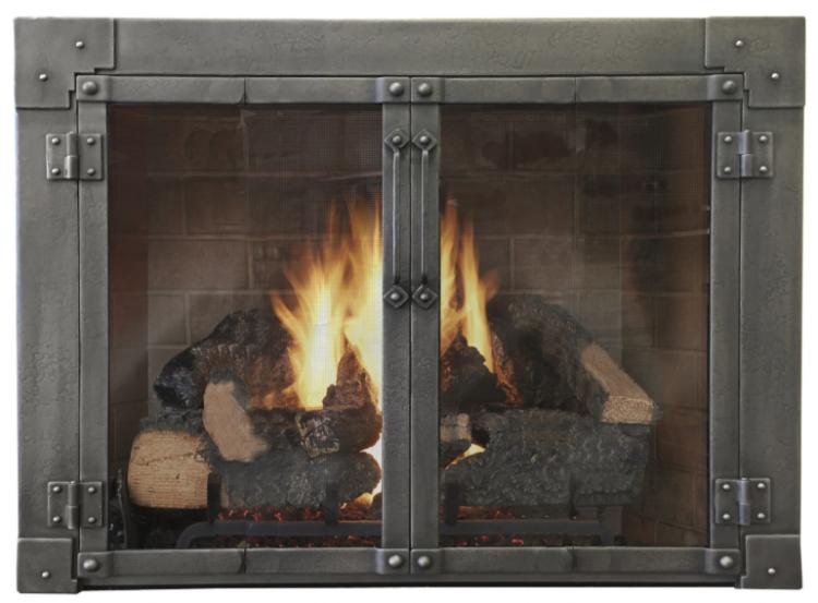 milwaukee forge armada fireplace door