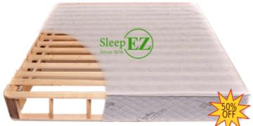 natural wood mattress foundation