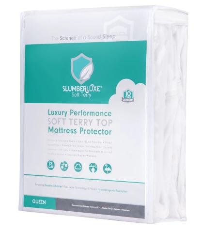 slumberluxe mattress protector