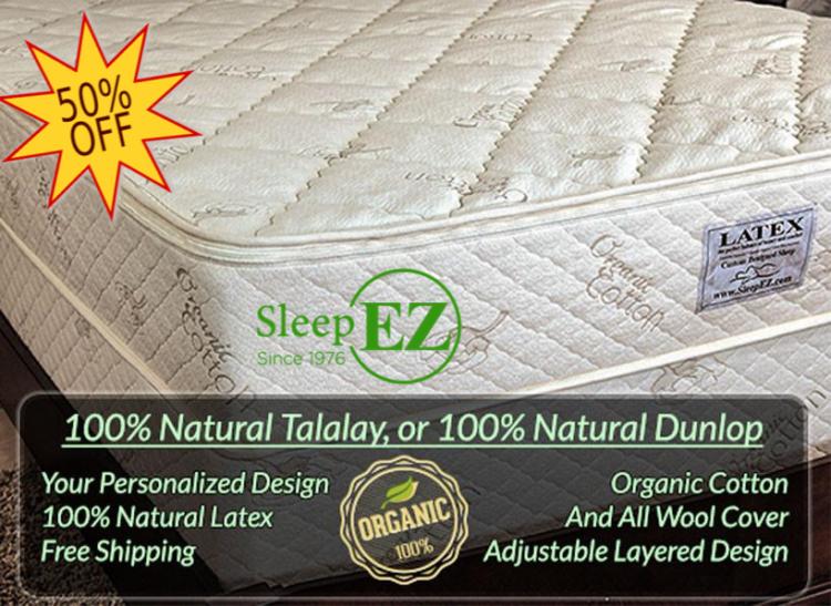 ultimate king latex mattress