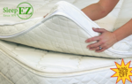 wool latex mattress topper