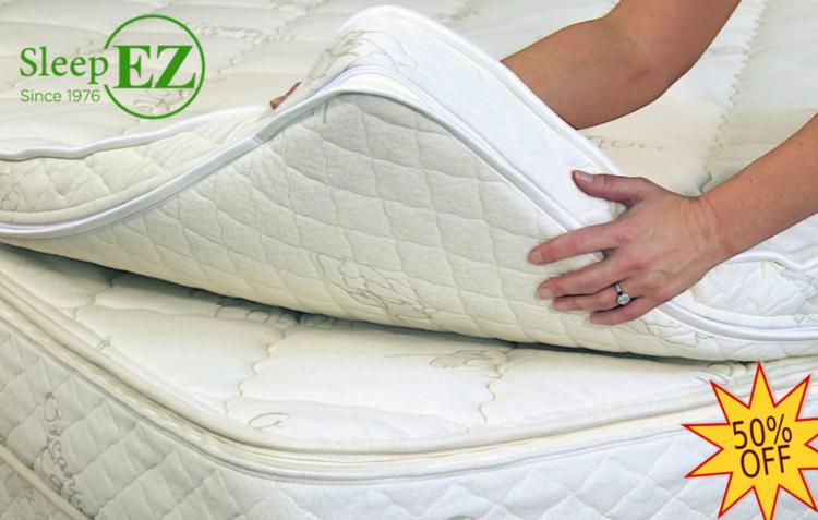 wool latex mattress topper