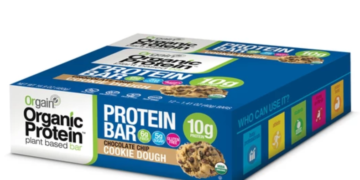 orgain protein bars