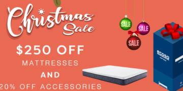 ecosa mattress christmas sale