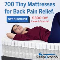 $300 off sleepovation mattress