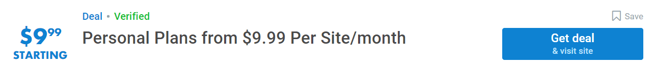 sitelock website security personal