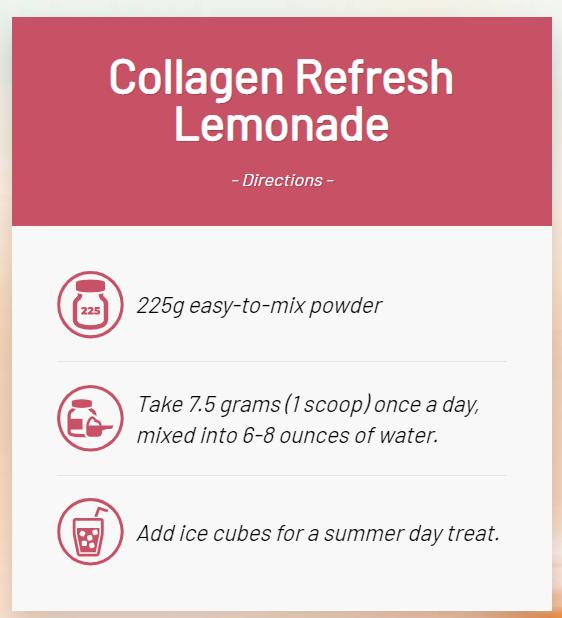 collagen refresh lemonade directions