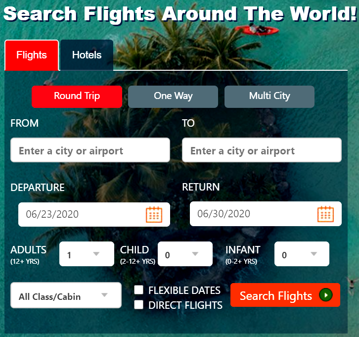 flights channel discount