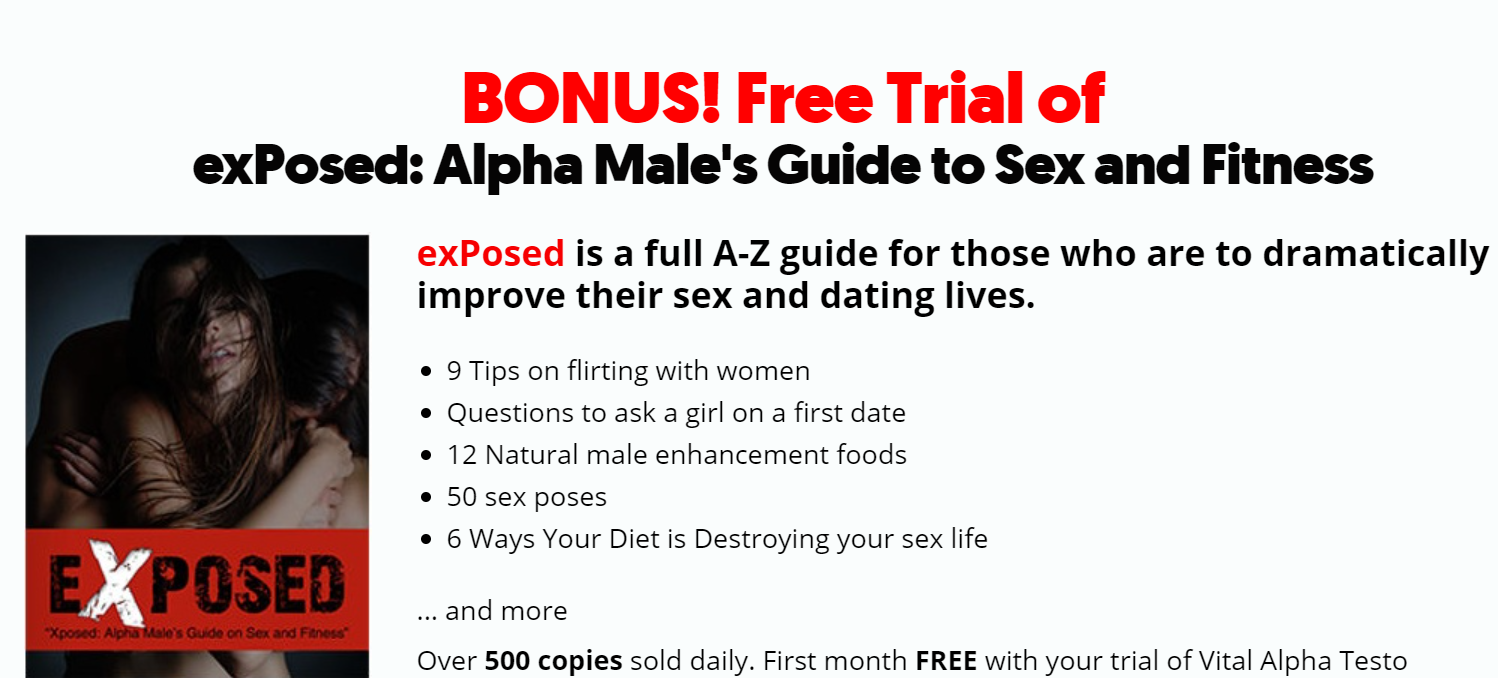 vital alpha testo coupon