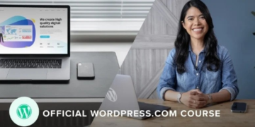 build a professional website with wordpress
