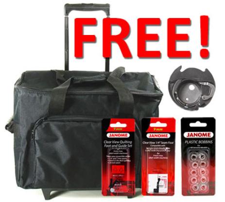 janome mc6650 bonus kit