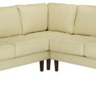 mateo mid century palm springs leather match sectional