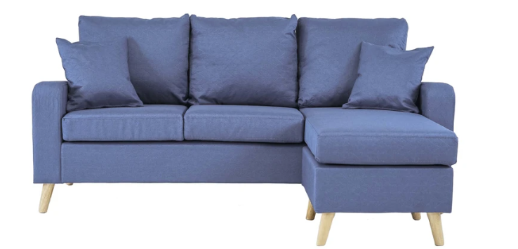pride vibrant space saving sectional