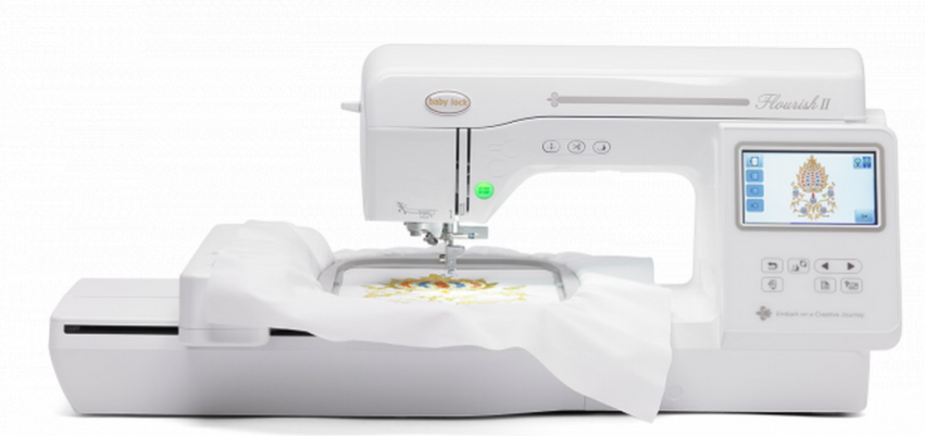 baby lock flourish ii embroidery only machine