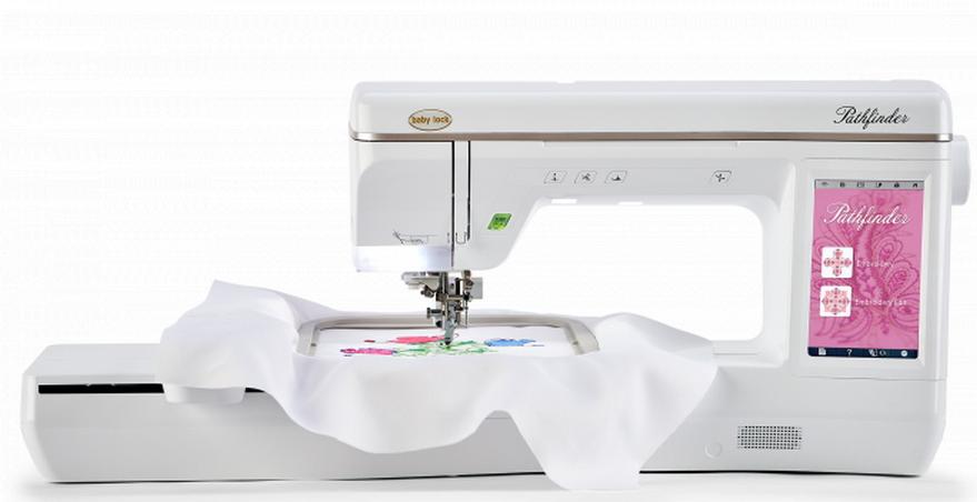 baby lock pathfinder embroidery machine
