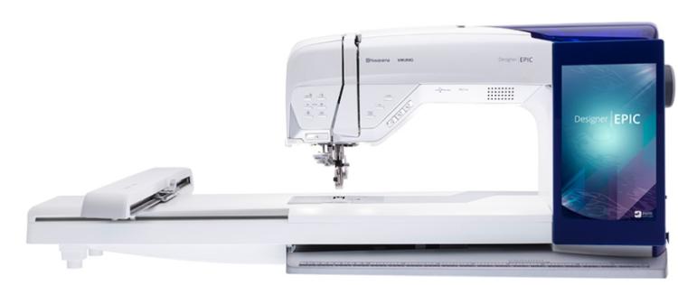 husqvarna viking designer epic sewing and embroidery machine