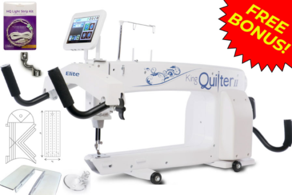 king quilter ii elite long arm quilting machine