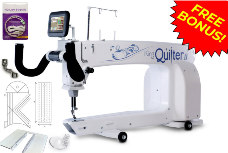 king quilter ii long arm quilting machine