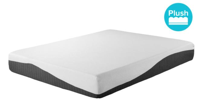 cloud 10 memory foam and gel mattress