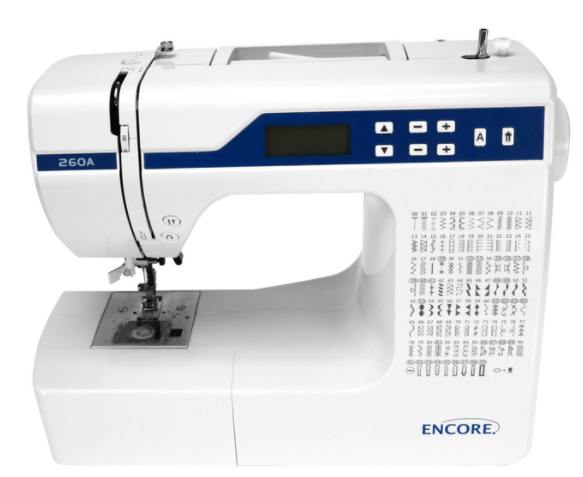encore 260a sewing machine
