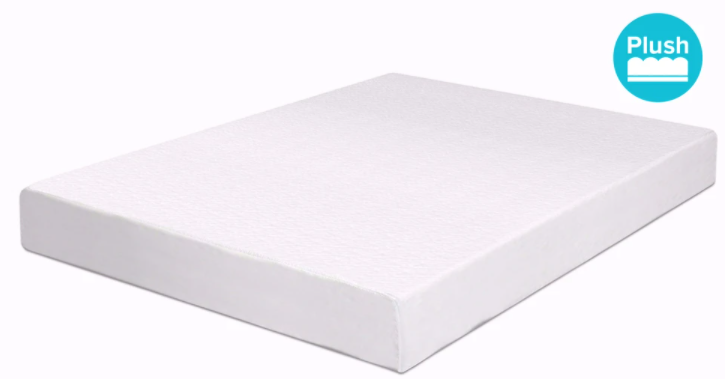 espuma 6 high density memory foam mattress