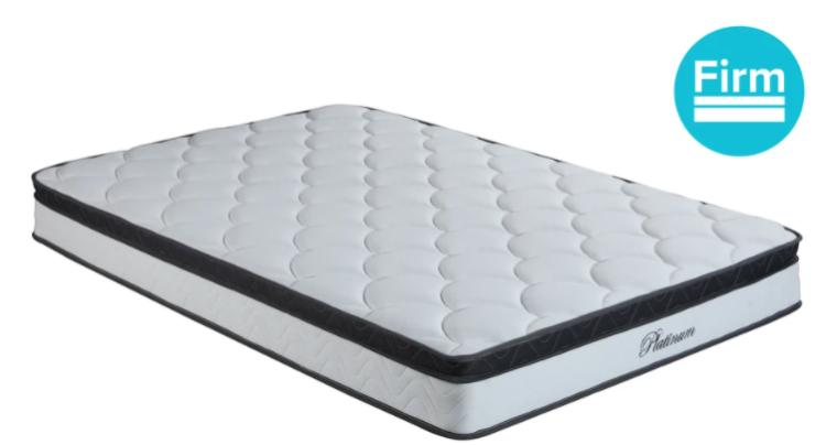 flow 10 hybrid pocket spring x wave foam mattress