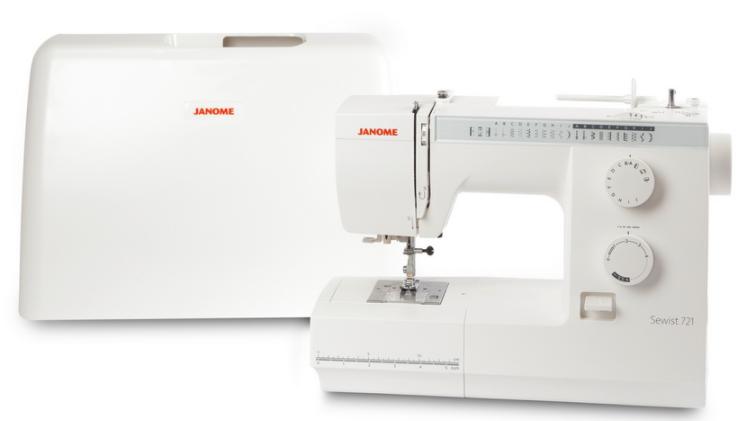 janome sewist 721s sewing machine