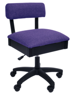 arrow adjustable height hydraulic sewing and craft chair