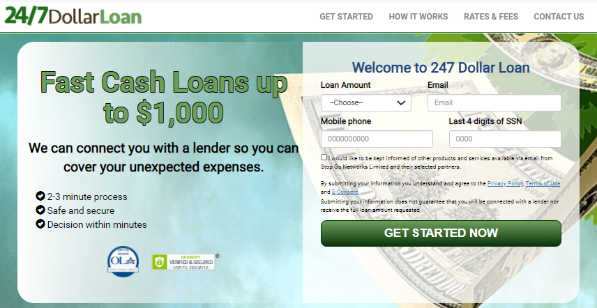 dollar loan fast cash loans