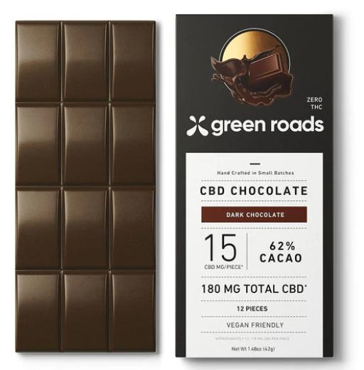 green roads cbd chocolate bar