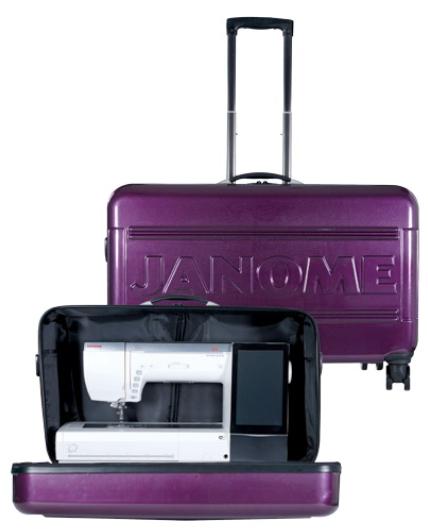 janome memory craft 15000 hard rolling cart