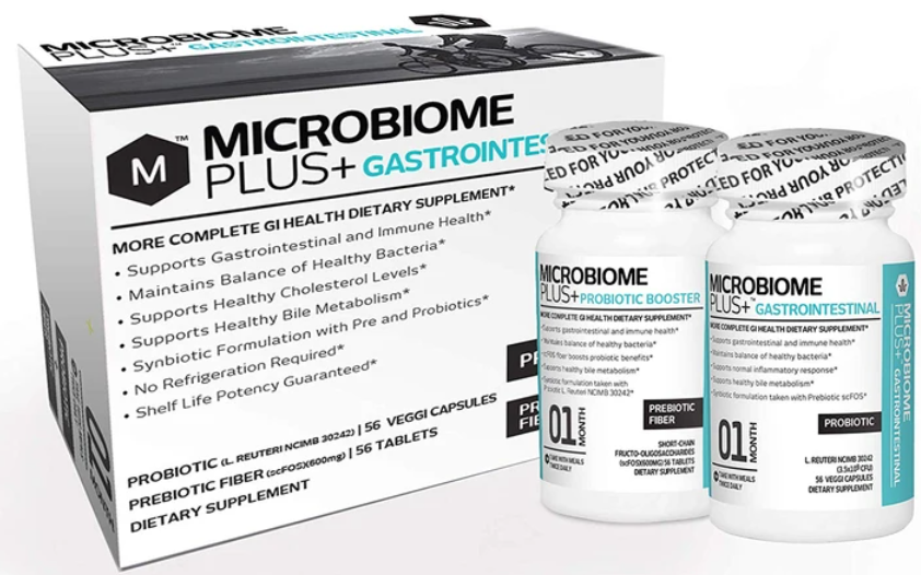 microbiome plus gastrointestinal combo probiotic