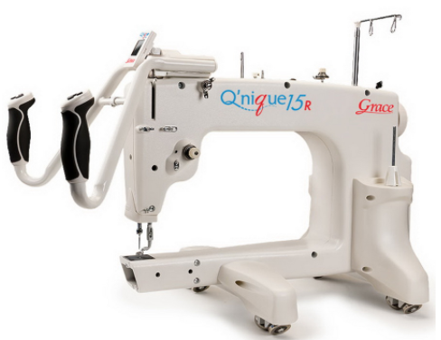 qnique 15r long arm quilting machine