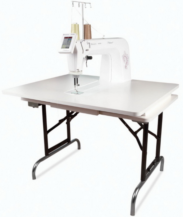 husqvarna viking platinum 16 longarm quilting machine