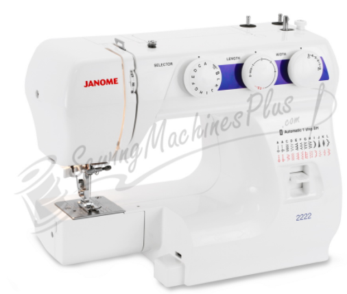 janome 2222 sewing machine discount