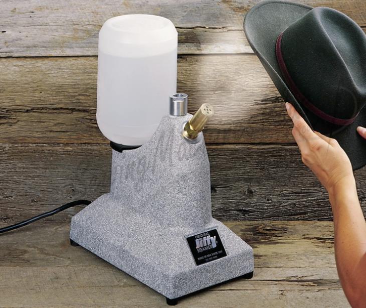 jiffy j1 hat cap steamer