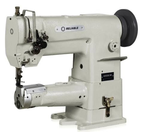 reliable 4300cw cylinder bed walking foot sewing machine