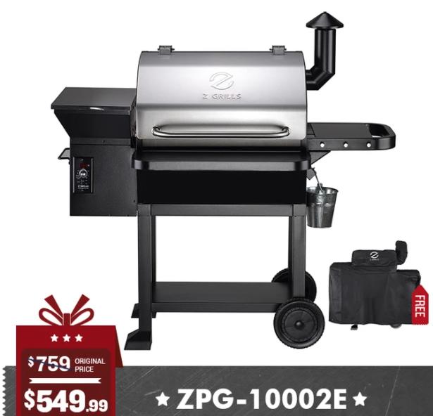 z grills 10002e 8 in 1 wood pellet grill