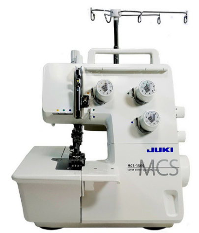Juki mcs 1500 cover and chain stitch machine
